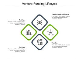Venture Funding Lifecycle Ppt Powerpoint Presentation Model Cpb