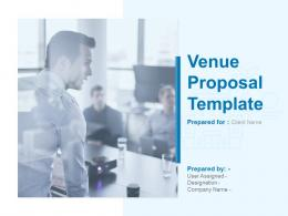 Venue Proposal Template Powerpoint Presentation Slides