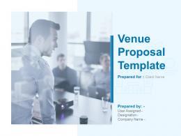 Venue Proposal Template Powerpoint Presentation Slides