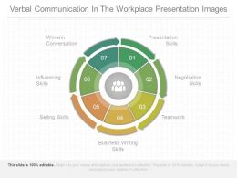 Verbal Communication In The Workplace Presentation Images