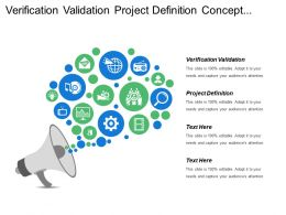 Verification Validation Project Definition Concept Operations Requirements Architecture