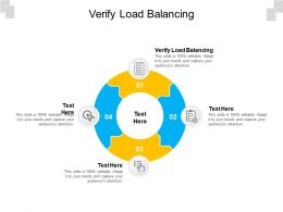 Verify Load Balancing Ppt Powerpoint Presentation Icon Graphics Tutorials Cpb