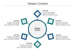 Version Control Ppt Powerpoint Presentation Layouts Graphics Tutorials Cpb