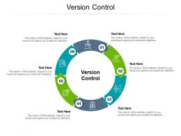 Version Control Ppt Powerpoint Presentation Model Ideas Cpb