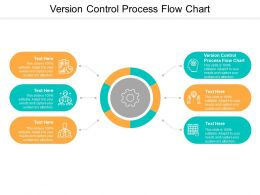 Version Control Process Flow Chart Ppt Powerpoint Presentation Model Portfolio Cpb