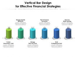 Vertical Bar Design For Effective Financial Strategies