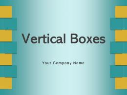 Vertical Boxes Statement Customer Experience Business Entrepreneurship Business Growth