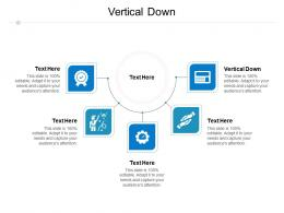 Vertical Down Ppt Powerpoint Presentation Styles Slide Download Cpb