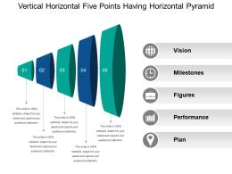 Vertical Horizontal Five Points Having Horizontal Pyramid