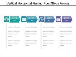 vertical_horizontal_having_four_steps_arrows_Slide01