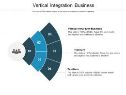 Vertical Integration Business Ppt Powerpoint Presentation Professional Influencers Cpb