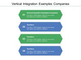 Vertical Integration Examples Companies Ppt Powerpoint Presentation Outline Examples Cpb
