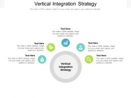 Vertical Integration Strategy Ppt Powerpoint Presentation Outline Clipart Images Cpb