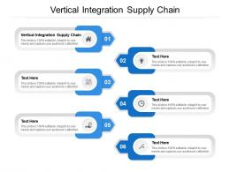 Vertical Integration Supply Chain Ppt Powerpoint Presentation Visual Aids Backgrounds Cpb