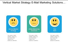 Vertical Market Strategy E Mail Marketing Solutions String Marketing Cpb