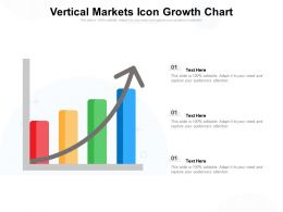 Vertical Markets Icon Growth Chart