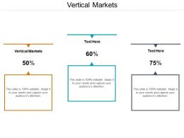Vertical Markets Ppt Powerpoint Presentation Pictures Graphics Example Cpb