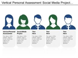 Vertical Personal Assessment Social Media Project Document Management