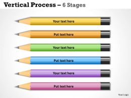 Vertical Process 6 Stages templates 42