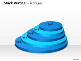 Vertical Stack Process With 5 Stages