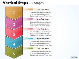Vertical Steps Diagram