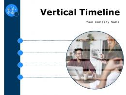 Vertical Timeline Business Analytics Project Scoping Through Quarterly