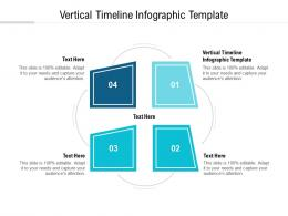 Vertical Timeline Infographic Template Ppt Powerpoint Presentation Model Inspiration Cpb