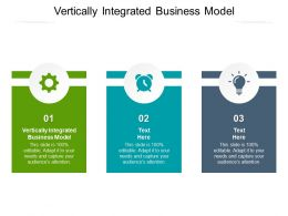 Vertically Integrated Business Model Ppt Powerpoint Presentation Portfolio Slides Cpb