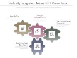 Vertically Integrated Teams Ppt Presentation