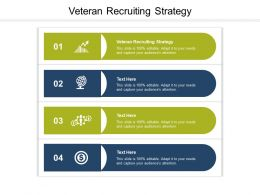 Veteran Recruiting Strategy Ppt Powerpoint Presentation Inspiration Graphics Cpb