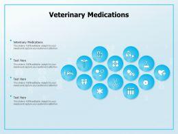 Veterinary Medications Ppt Powerpoint Presentation Outline Slides