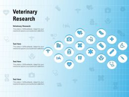 Veterinary Research Ppt Powerpoint Presentation File Slides