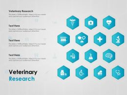 Veterinary Research Ppt Powerpoint Presentation Summary Layout Ideas
