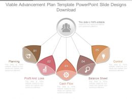 Viable Advancement Plan Template Powerpoint Slide Designs Download
