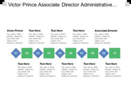 Victor Prince Associate Director Administrative Operations Chief Financial Officer