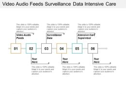 Video Audio Feeds Surveillance Data Intensive Care Supervisor Cpb