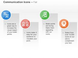 Video Calling Mobile Communication Webnair Ppt Icons Graphics