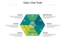 Video Chat Tools Ppt Powerpoint Presentation Ideas Outline Cpb