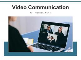 Video Communication Interview Through Representing Interactions Software Conference