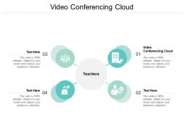 Video Conferencing Cloud Ppt Powerpoint Presentation Show Cpb
