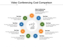 Video Conferencing Cost Comparison Ppt Powerpoint Presentation Layouts Smartart Cpb