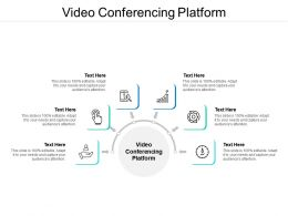 Video Conferencing Platform Ppt Powerpoint Presentation Inspiration Layouts Cpb