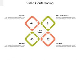 Video Conferencing Ppt Powerpoint Presentation Professional Example Cpb