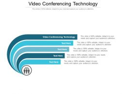 Video Conferencing Technology Ppt Powerpoint Presentation Pictures Topics Cpb