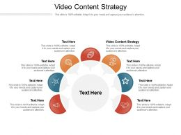 Video Content Strategy Ppt Powerpoint Presentation Summary Icons Cpb
