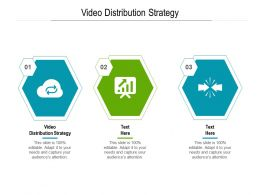 Video Distribution Strategy Ppt Powerpoint Presentation Styles Picture Cpb