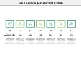 Video Learning Management System Ppt Powerpoint Presentation Model Smartart Cpb