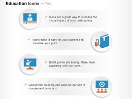 video_lecture_database_system_communication_ppt_icons_graphics_Slide01