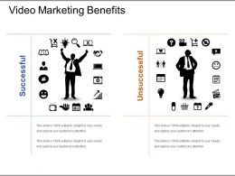 Video Marketing Benefits Presentation Design