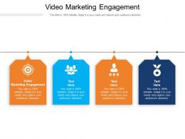 Video Marketing Engagement Ppt Powerpoint Presentation Layouts Inspiration Cpb